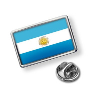"""Pin """"Argentina Flag"""" - Lapel Badge - NEONBLOND"""
