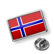 """Pin """"Norway Flag"""" - Lapel Badge - NEONBLOND"""