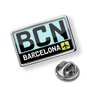 """Pin """"Airport code """"BCN / Barcelona"""" country"""