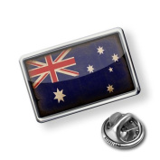 """Pin """"AustraliaFlag with a vintage look"""" - Lapel Badge - NEONBLOND"""