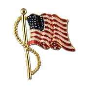 Enamel Flag Pin