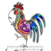 Brilliant Rooster Pin from the Artazia Collection #826 NP