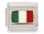 Clearly Charming Italian Flag Italian Charm