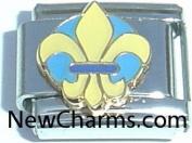 Fleur De Lis Italian Charm Bracelet Jewellery Link