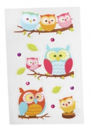 Cell Phone Stickers - Owls