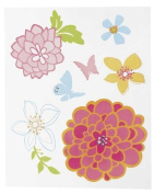 Stickers for laptops and netbooks - Pastel Flowers
