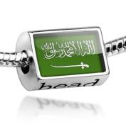 "Beads ""Saudi Arabia Flag"" - Pandora Charm & Bracelet Compatible"