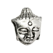 IMPPAC Indian God, 925 Sterling Silver, for European Beads and Charms bracelets, fits all different European Beads Brands too SMQ001