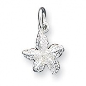 Sterling Silver Starfish Charm - JewelryWeb