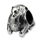 Sterling Silver Reflections Sitting Camel Bead