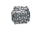 Zable(tm) Sterling Silver Autism Puzzle Bead / Charm