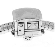 Sterling Silver Rv Camper Trailer Bead Charm By Simstars
