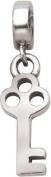 Persona Sterling Silver Key Charm fits Pandora, Troll & Chamilia European Charm Bracelets