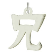 "Sterling Silver ""Older Brother"" Kanji Chinese Symbol Charm"