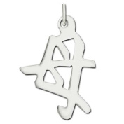 """Sterling Silver """"Mother"""" Kanji Chinese Symbol Charm"""
