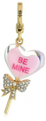 """Juicy Couture """"Spring Delivery 1 Charms"""" Limited Edition Heart Lolli Charm"""