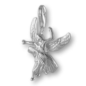 MELINA Charms clip on pendant elf fairy sterling silver 925