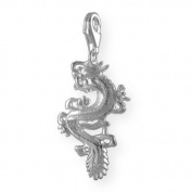 MELINA Charms clip on pendant dragon sterling silver 925