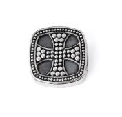 Bonn Bons® By Lori Bonn Sterling Silver Maltese Cross Slide Charm For Charm Bracelets
