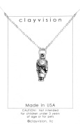 Clayvision Girl Scout Brownie Daisy Necklace