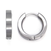 Titanium Huggie Hoop Earrings