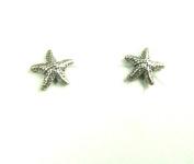 Starfish Tiny Sterling Silver Post Earrings Ear Studs Ocean Nautical Marine Life Jewellery