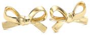 "Kate Spade New York ""Skinny Mini"" Gold-Tone Bow Stud Earrings"