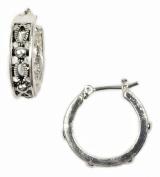 Napier Detailed Hoop Earrings