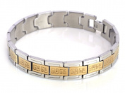 Gold Stainless Steel Men Bracelet Jewellery Chain Link
