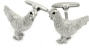 Rooster Cock Cufflinks by Cuff-Daddy