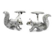 Squirrel Cufflinks by Cuff-Daddy