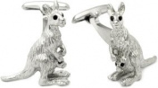 Kangaroo Cufflinks by Cuff-Daddy