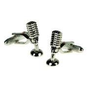 Microphone Cufflinks