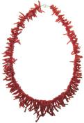 Coral Necklace Italian Genuine Mediterranean Sardinia Coral 50.8cm