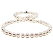 HinsonGayle Handpicked 7.5-8.0mm White Cultured Freshwater Pearl Necklace