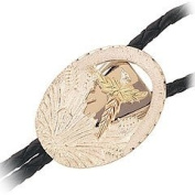 Black Hills Gold - Bolo - Gold on Sterling Silver - Pheasant
