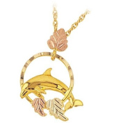 Black Hills Gold Necklace - Dolphin
