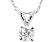 .40CT Round Natural Diamond Solitaire Pendant Round Brilliant Cut Genuine Solid