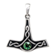 Thor's Hammer Pendant Collectible Medallion Necklace Accessory Jewellery