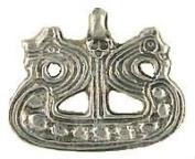 Viking Ship Norse Pewter Pendant