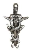 Norse Broadsword Viking Pewter Pendant