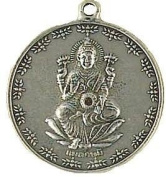 Lakshmi- Goddess of Wealth Veda - The Vedic Collection Pewter Pendant