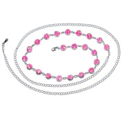 Pink Gem Glamour and Glitz Adjustable Belly Chain