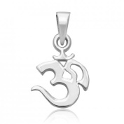 925 Sterling Silver OM OHM AUM Charm Pendant