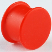 One Silicone Solid Front Plug