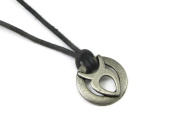 Taurus the Bull, Zodiac Pewter Pendant on Adjustable Cord Necklace