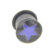 One Acrylic Single Flared Mood Plug