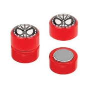 Spiderman Acrylic Fake Plugs - Magnetic - Sold As A Pair
