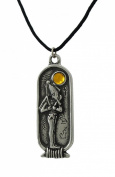 Egyptian Birth Sign Osiris Pendant Necklace March - April