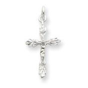 Sterling Silver Crucifix Pendant - JewelryWeb
